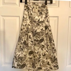 2/$20 Old Navy Strapless A Line woven floral dress